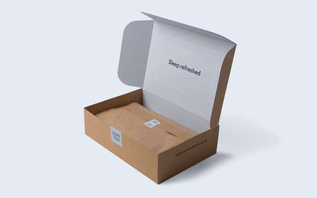 Plastic-free packaging | Tom & Dick's