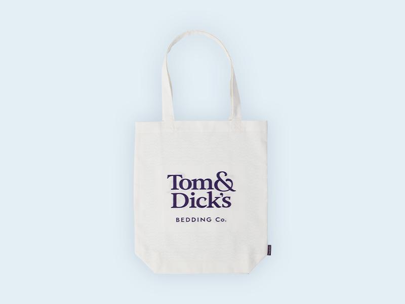 Tom & Dick's Tote Bag