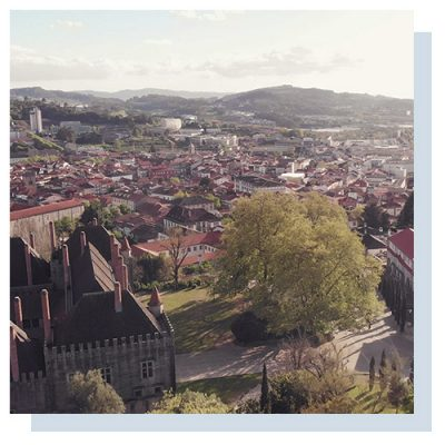 Guimarães, northern Portugal. A UNESCO World Heritage site where our mill is based.